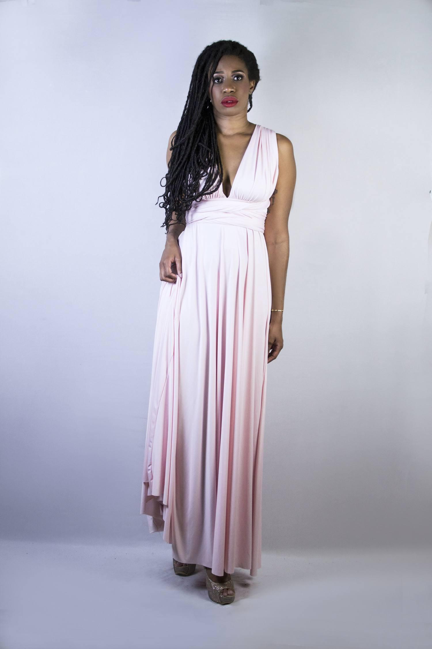 Vestido Longo De Festa Infinity Samara
