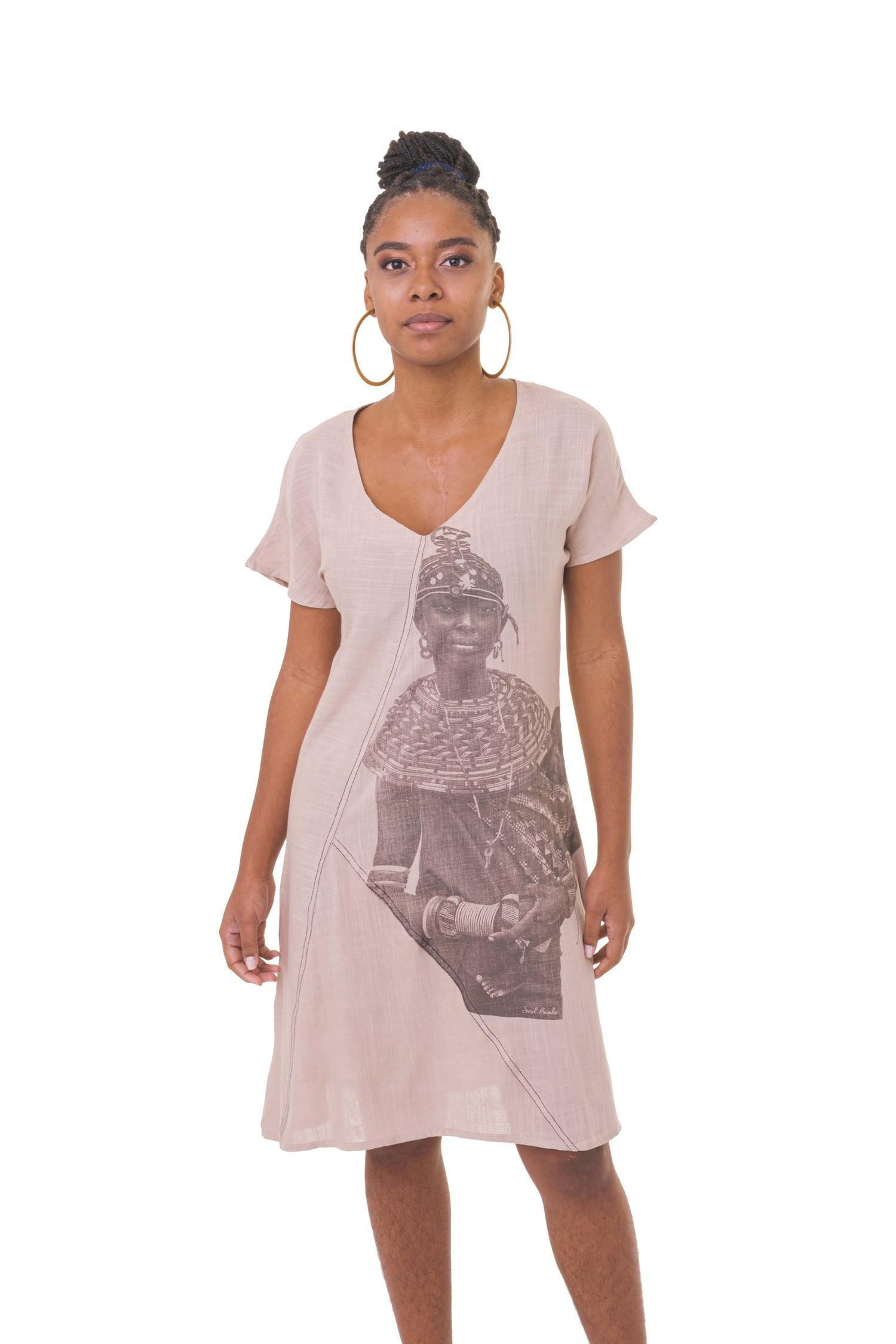 Vestido Ndanda Lunda