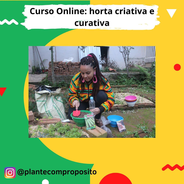Workshop Online: horta criativa e curativa