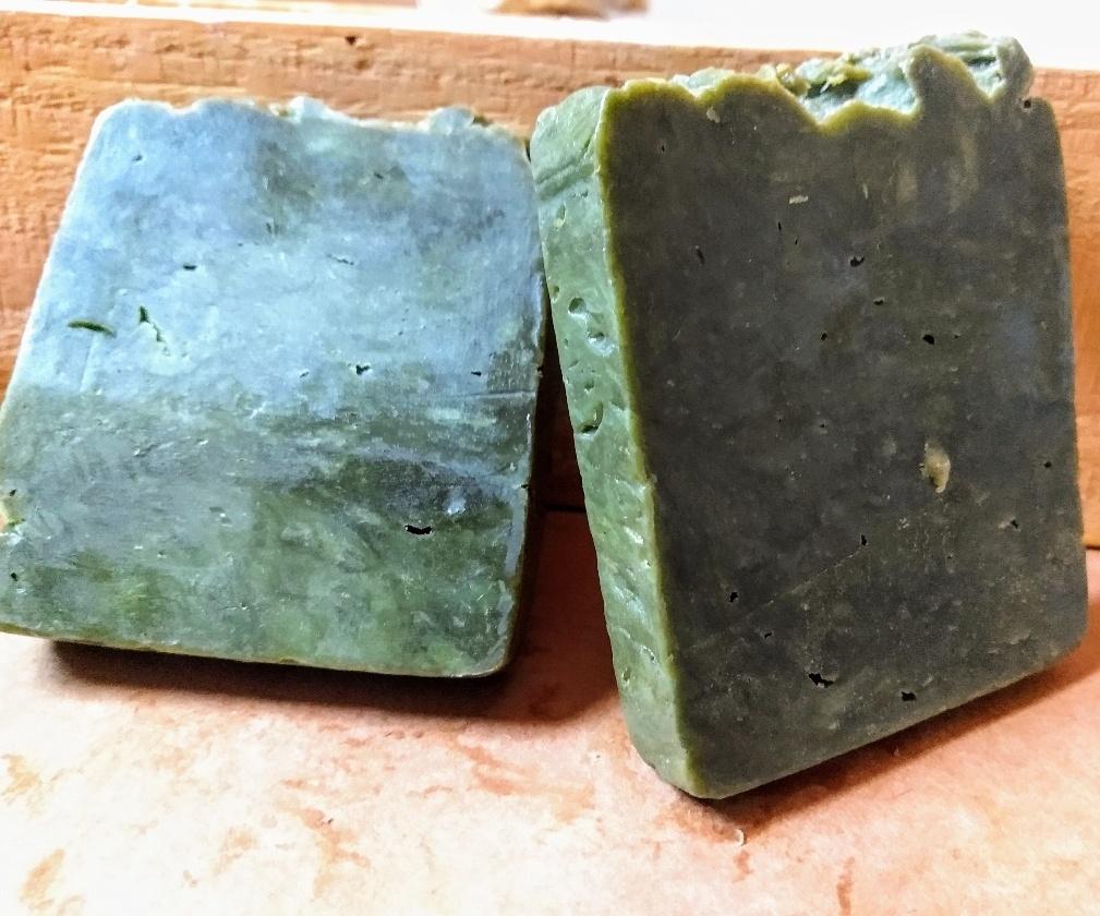Xamponete 3 em 1 em barra - Linha Masculina Baobá - 70 gramas
