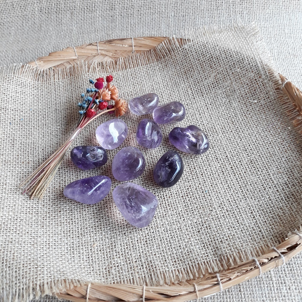 Ametista / Pedra Natural - Unidade