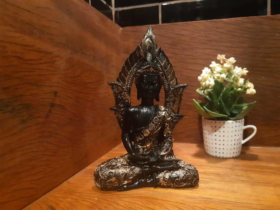 Buda no arco - 20cm