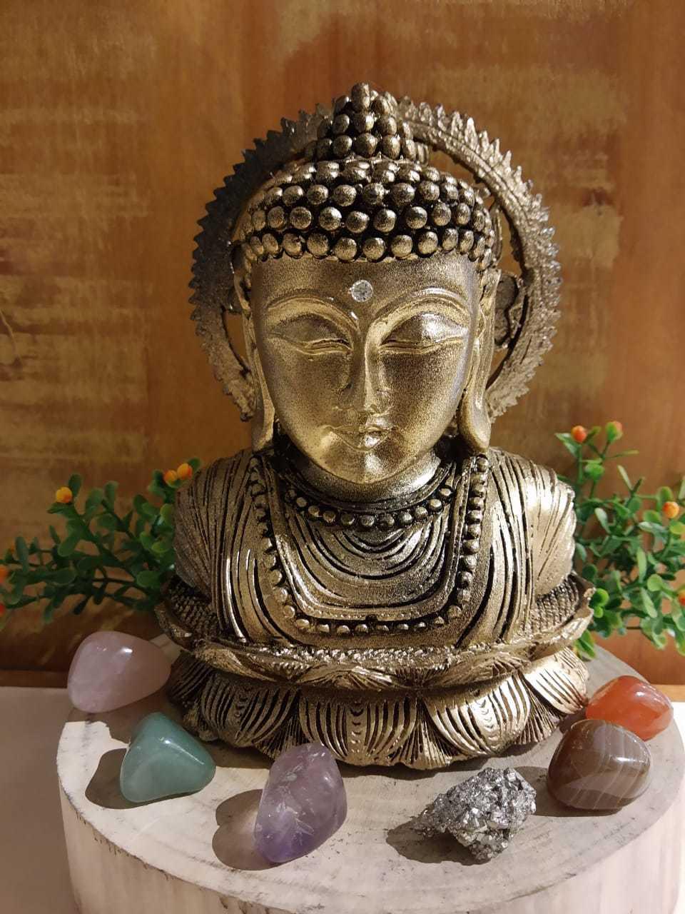 Busto do Buda - 16cm