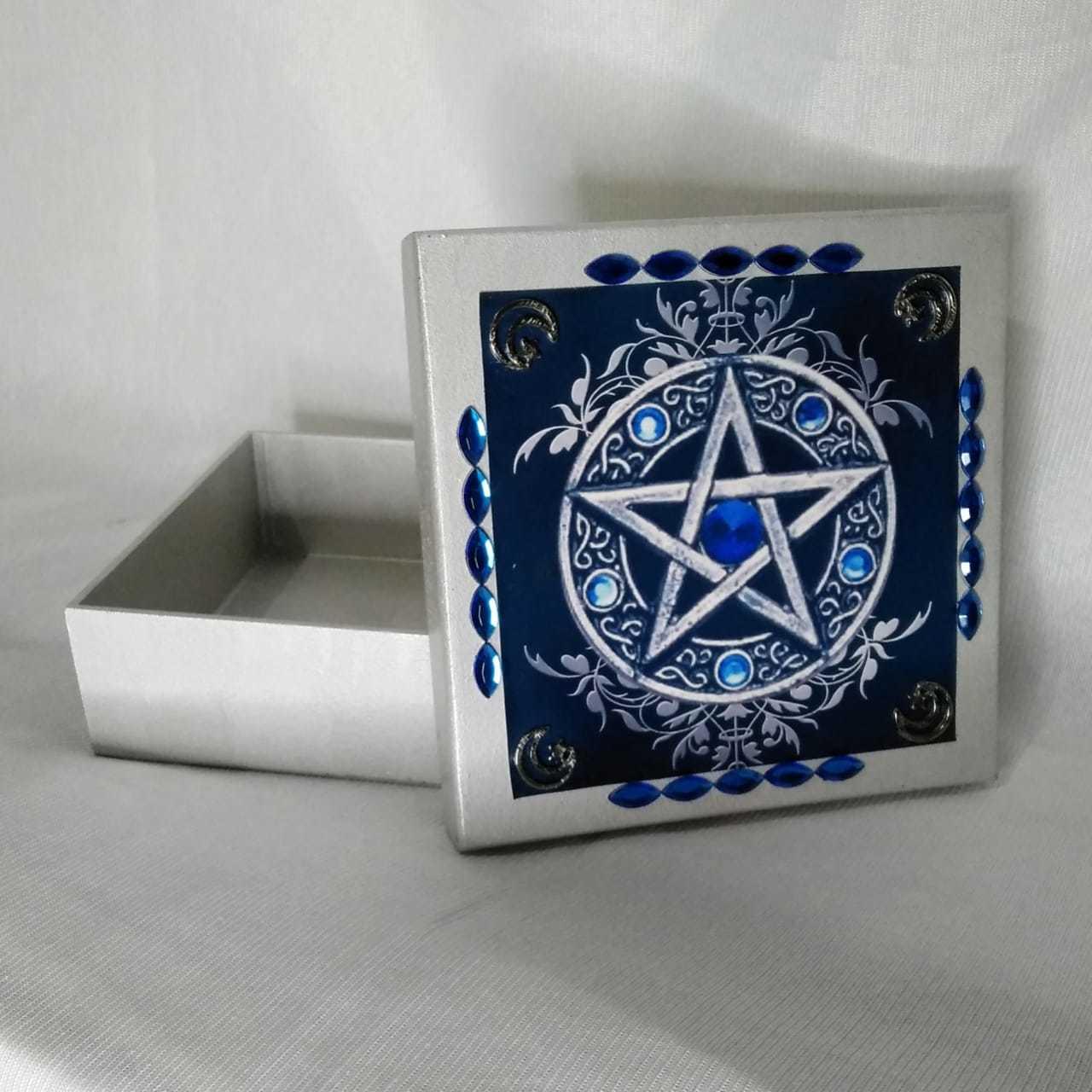 Caixa de Tarot de Pentagrama