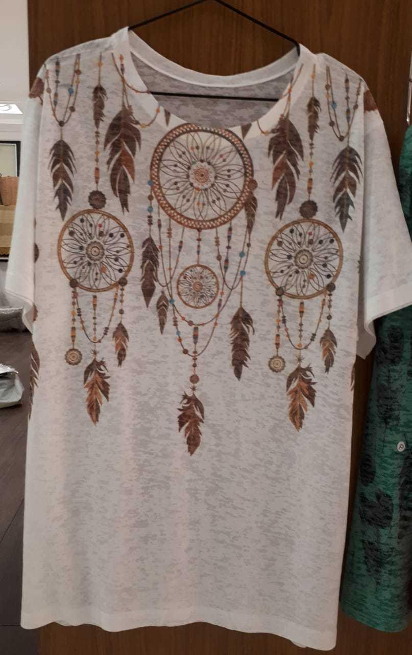 Camiseta colar de Filtro dos Sonhos
