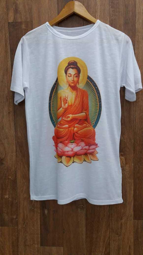 camiseta Buda em devorê