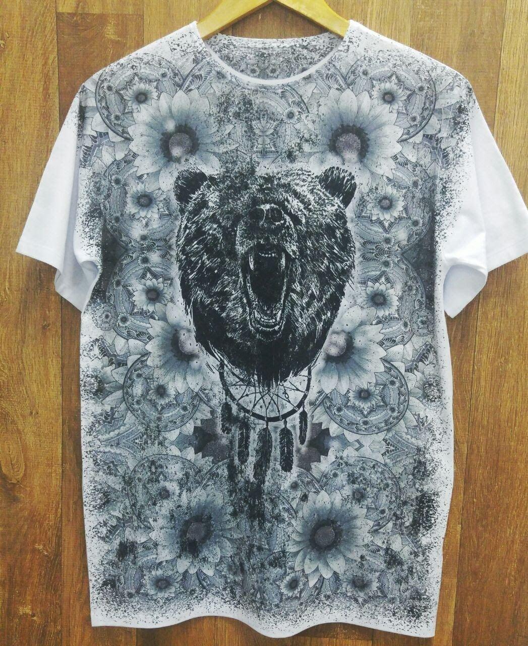 Camiseta urso com Filtro dos sonhos