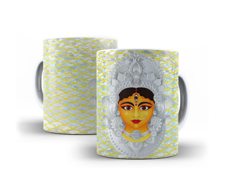 Caneca Durga em Cerâmica 325ml Modelo 2