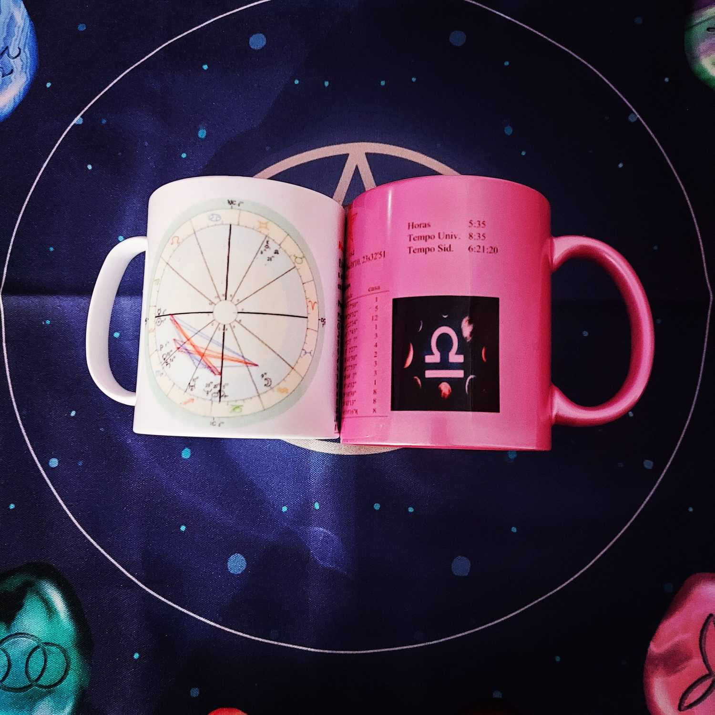 Caneca  Kosmykah - Mapa Astral