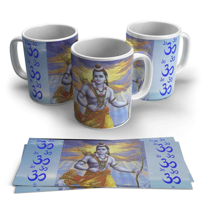 Caneca Rama em Cerâmica 325ml