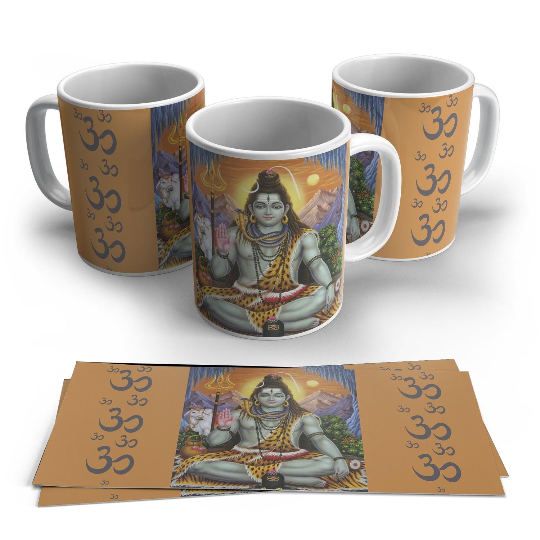 Caneca Shiva em Cerâmica 325ml