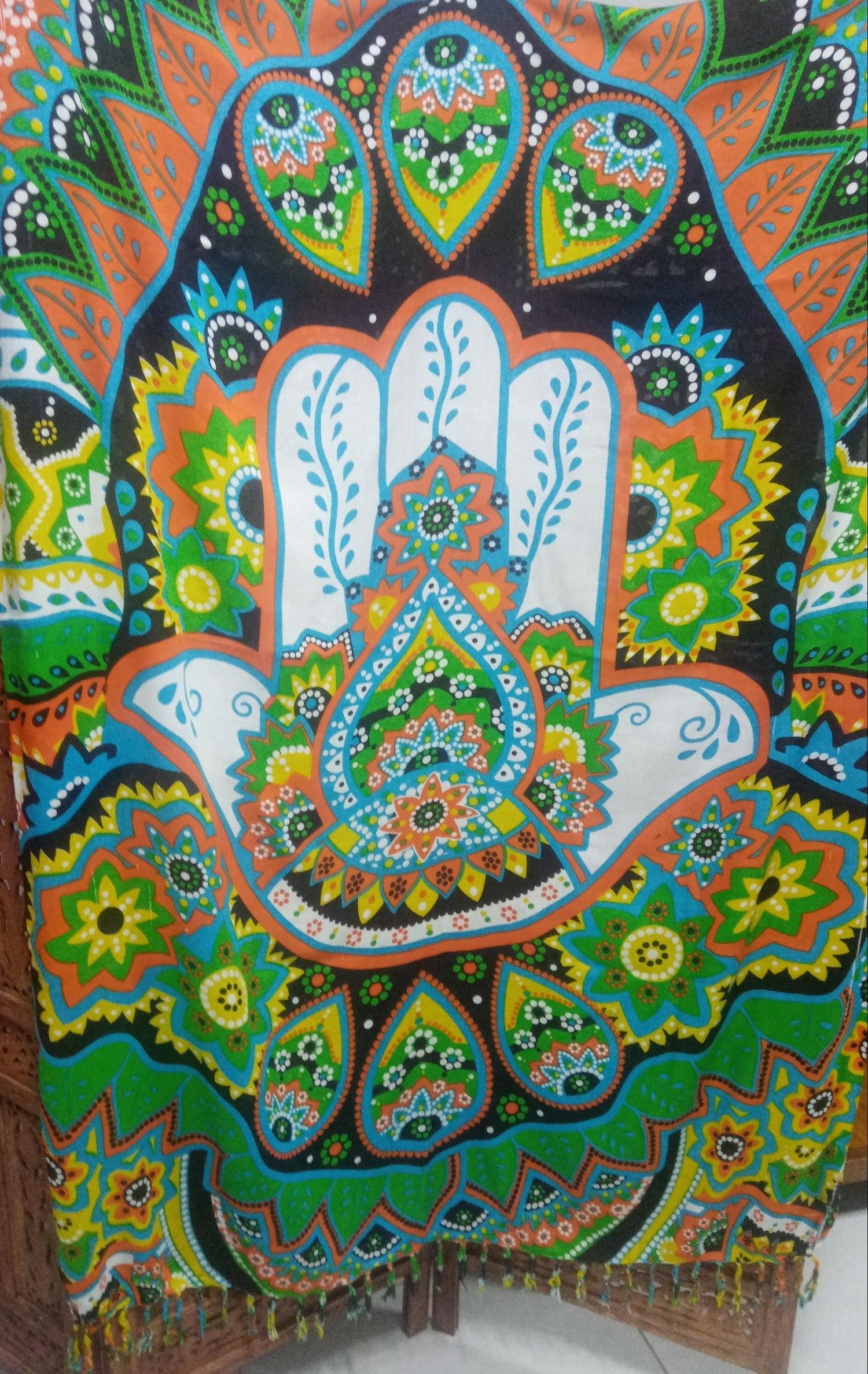 Canga Mão Hamsa/Mão de Fatima importada da Indonésia