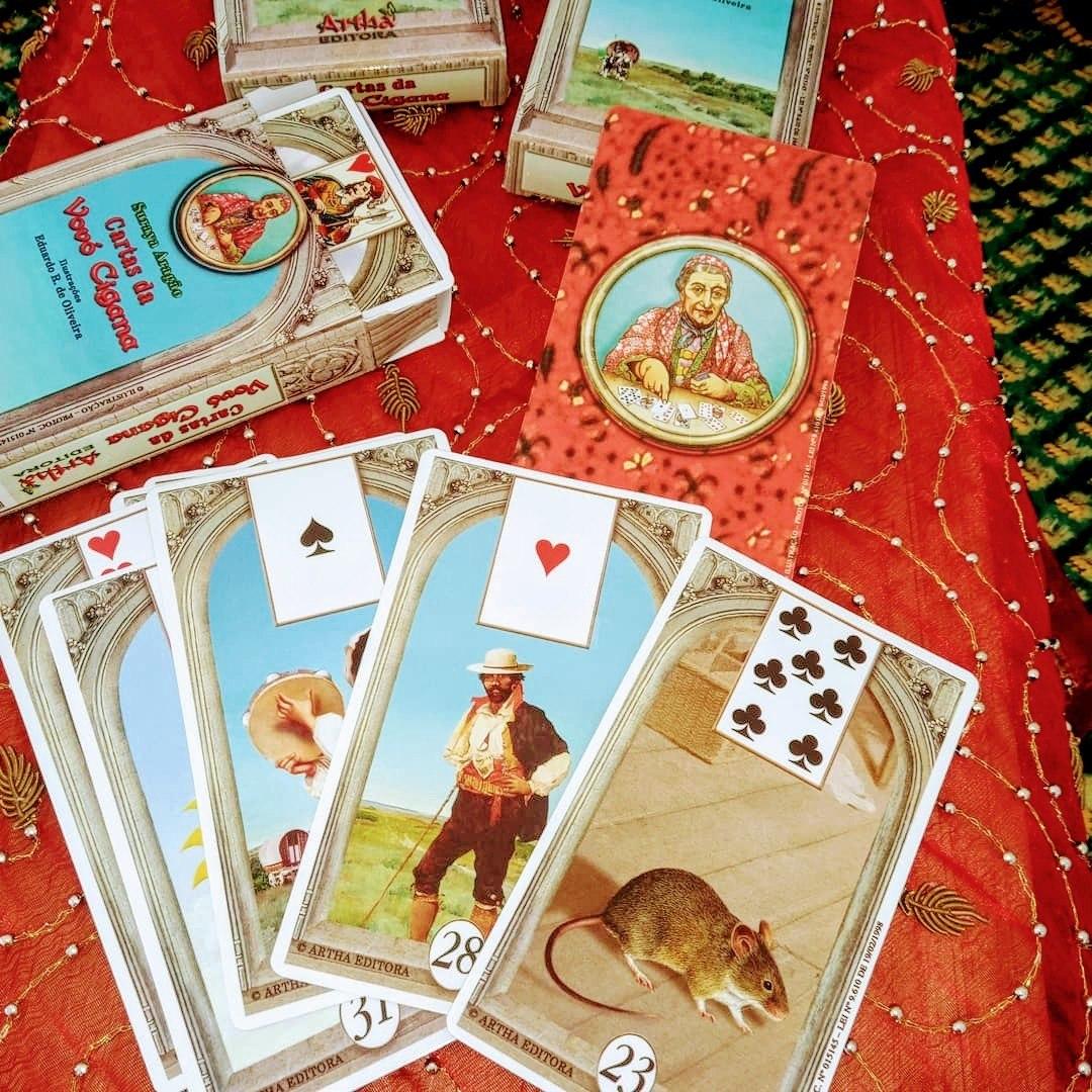 Cartas da Vovó Cigana/ 36 cartas + livreto