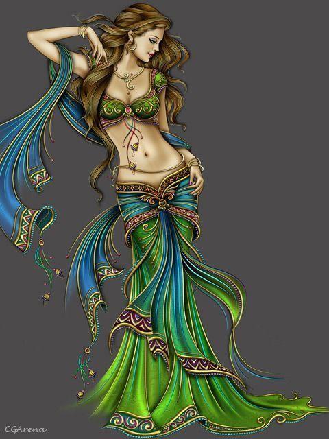 chinelo árabe modelo deusa