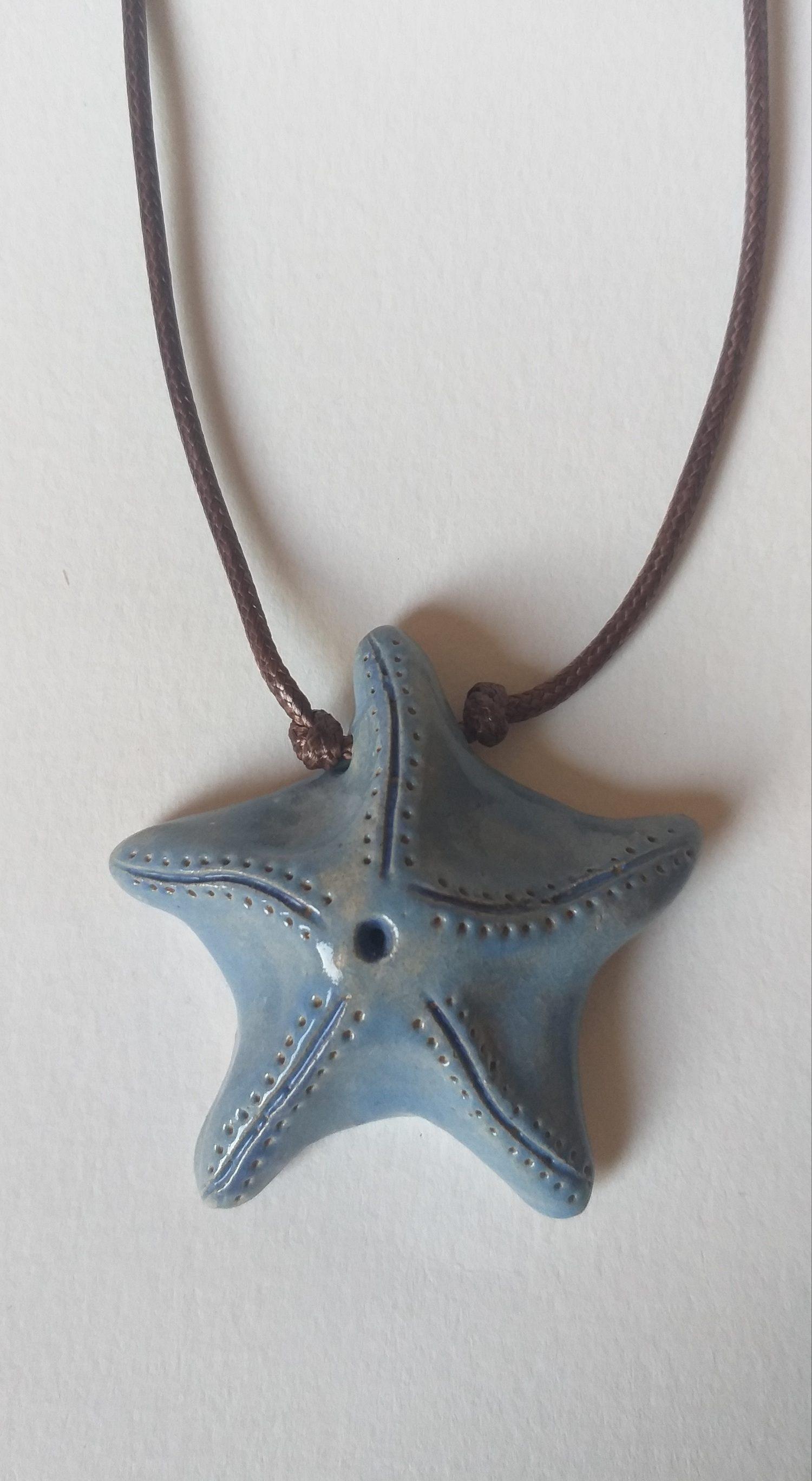 Colar Iemanjá Estrela Azul