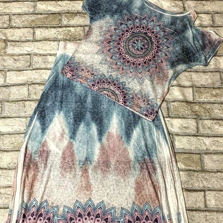 conjunto de saia longa com blusa