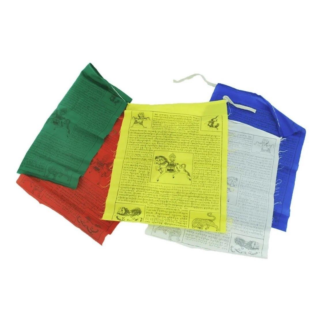 Cordão com Bandeirinhas Tibetanas PP (8cm)