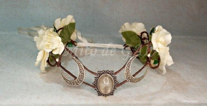 Coroa Nature Triluna - Cristal Branco