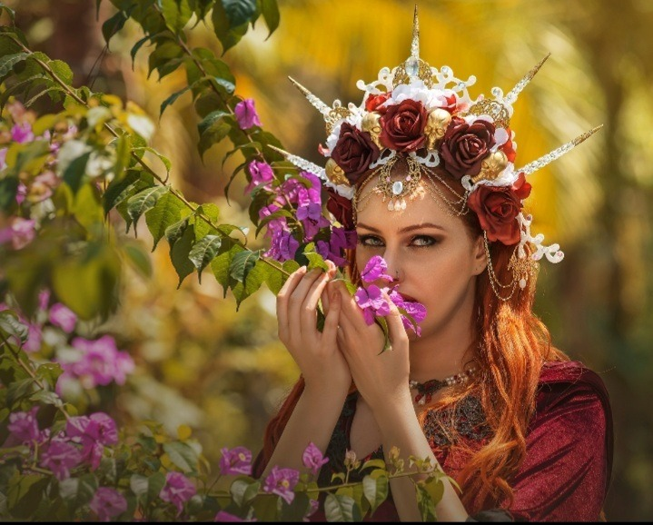 Coroa Rainha Caveira