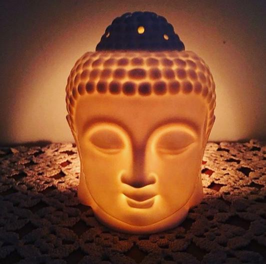 Difusor de Porcelana Buddha Grande Chapeú