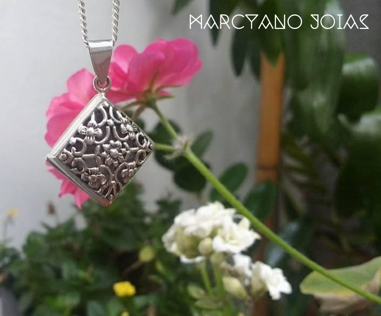 Difusor em Prata Balão Florido Marcyano Joias