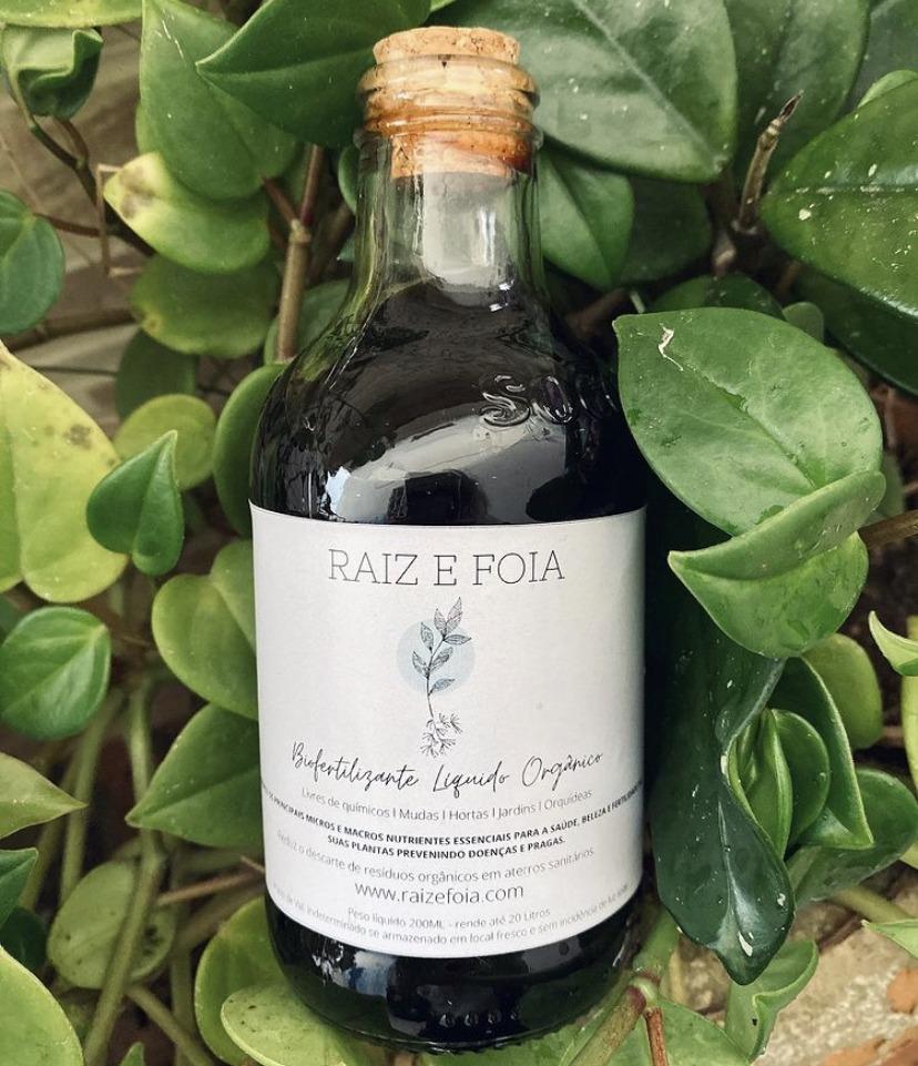 Fertilizante líquido orgânico
