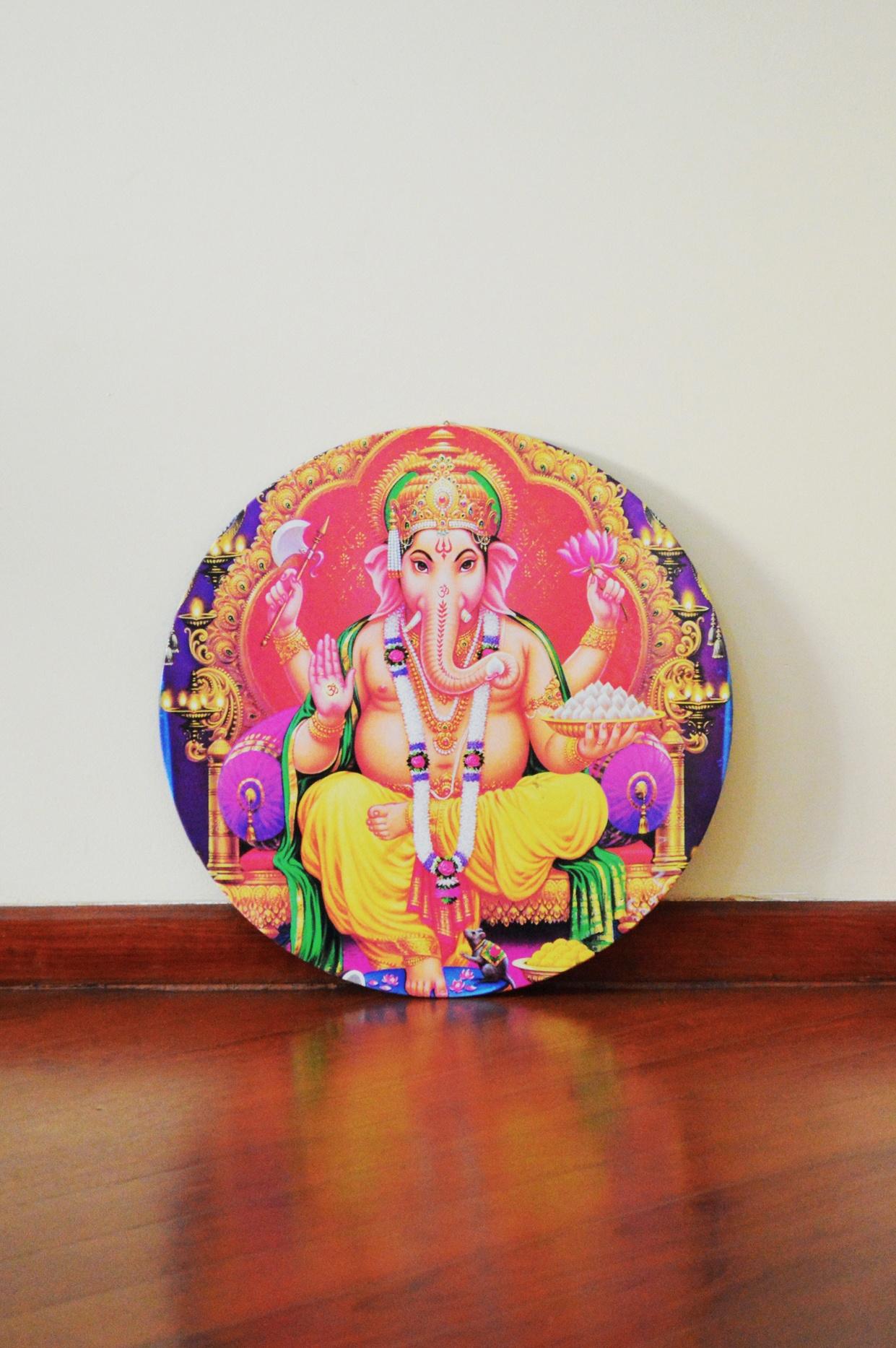 Ganesha - Placa Indiana