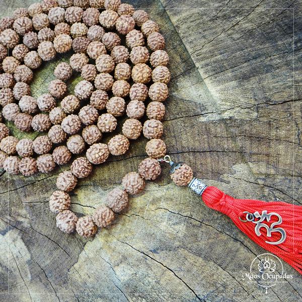 Grande japamala de sementes de rudraksha