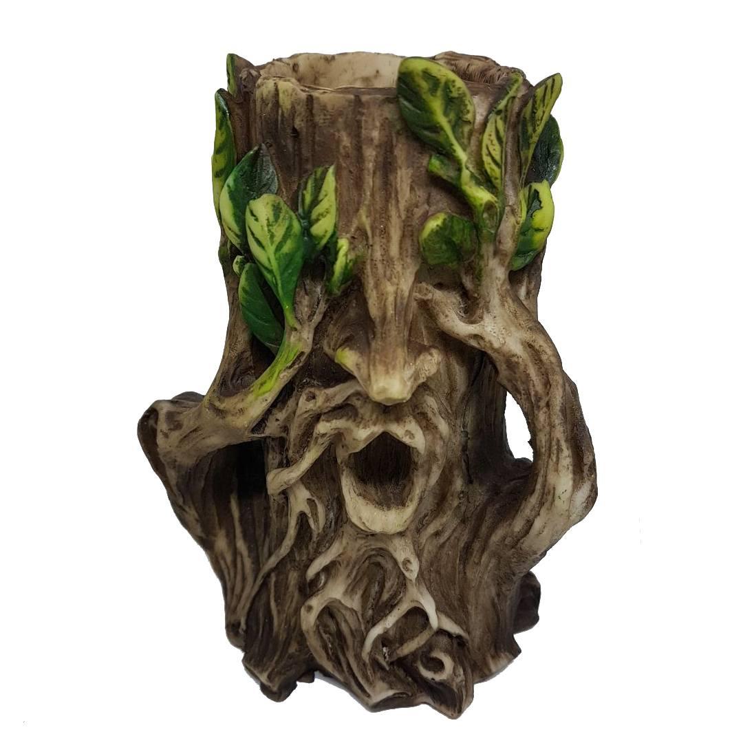 GREEN MAN PORTA VELAS (CEGO)