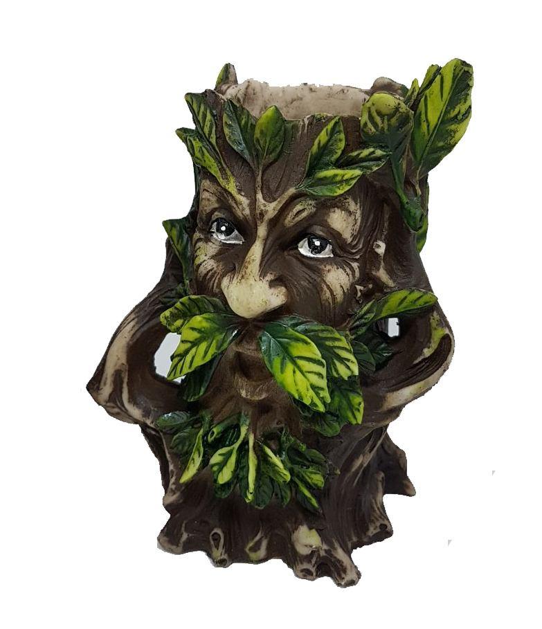GREEN MAN PORTA VELAS (SURDO)
