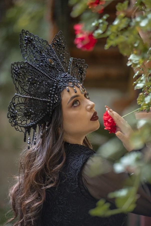 Headpiece Dark Queen
