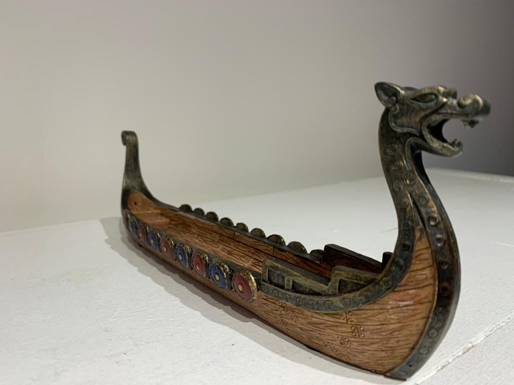 Incensário Barco Viking