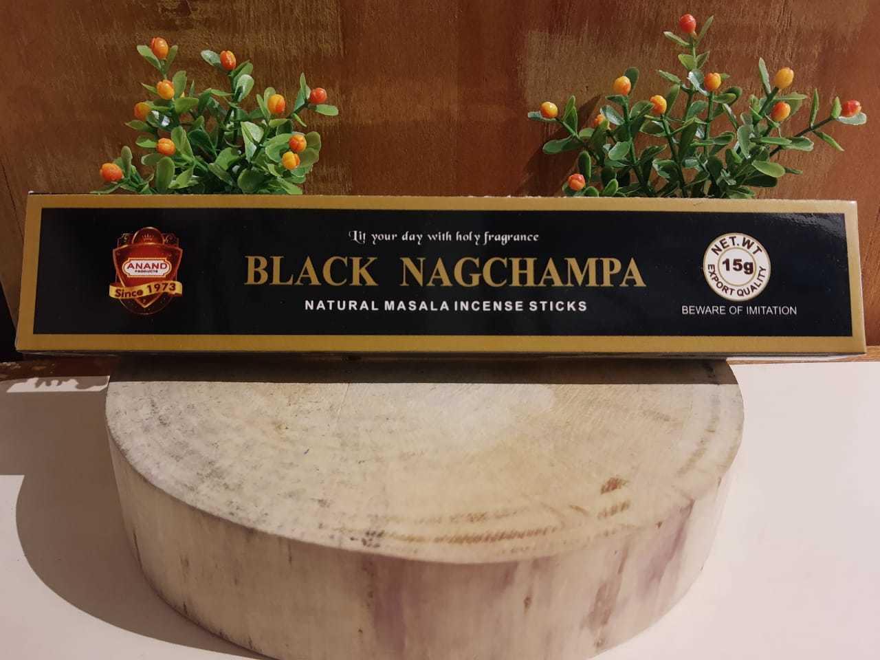 Incenso Black Nag Champa - Satya Indiano,  100% massala