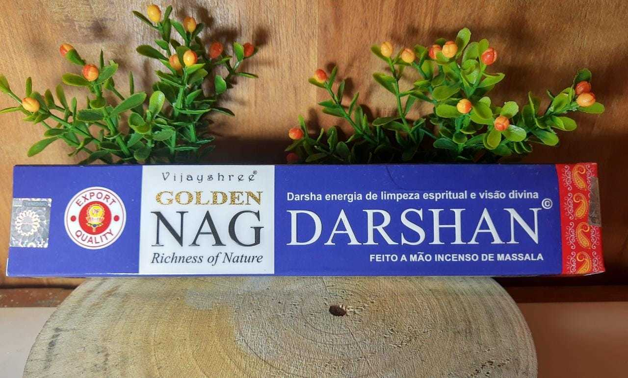 Incenso Darshan - Golden Indiano, massala