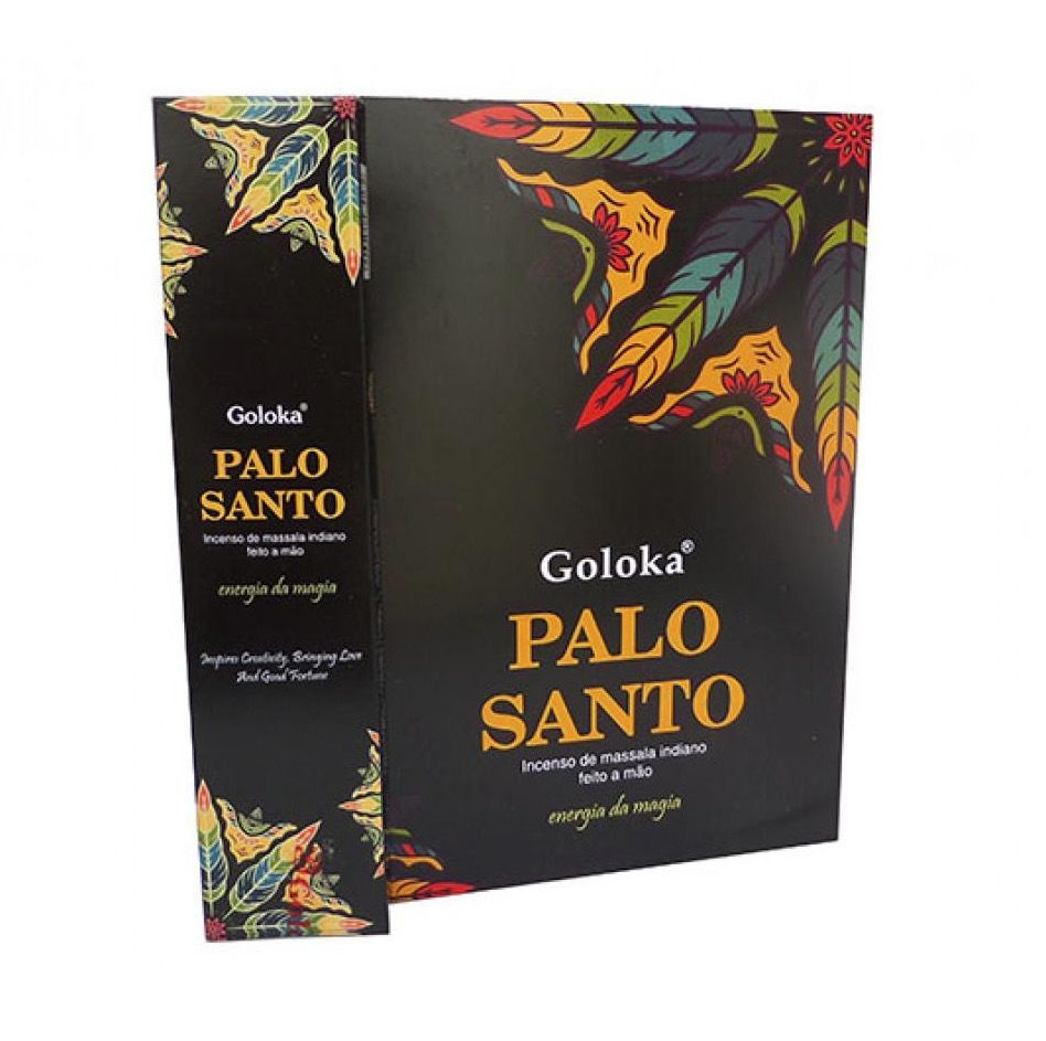 Incenso de Massala Indiano Goloka Palo Santo