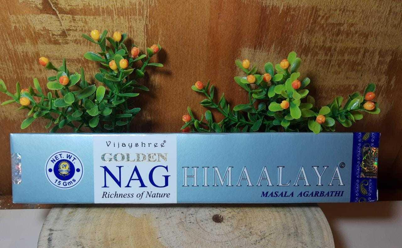 Incenso Himaalaya - Golden Indiano,  100% massala