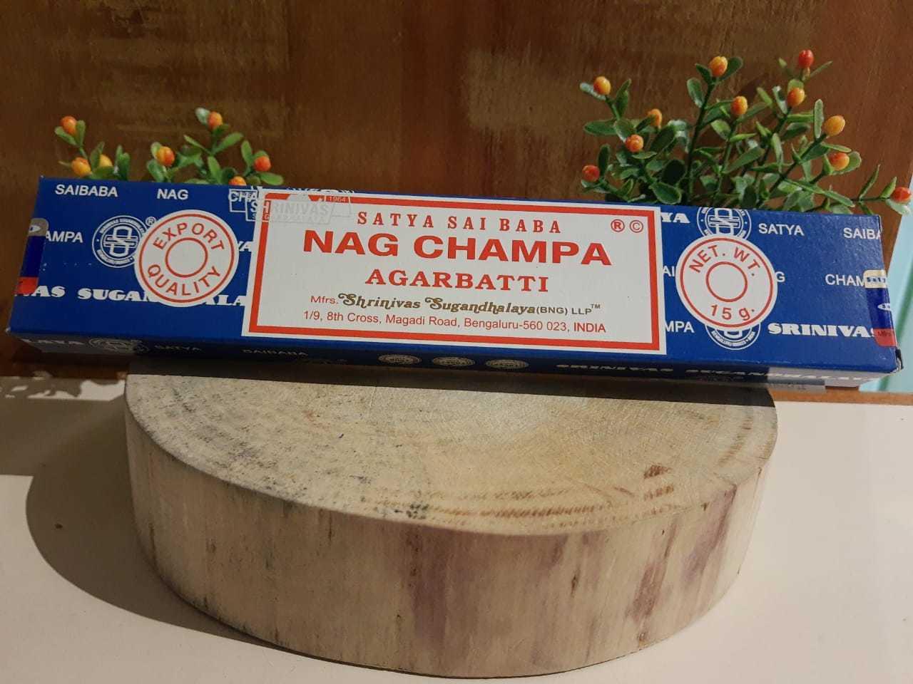 Incenso Nag Champa - Satya Indiano,  100% massala