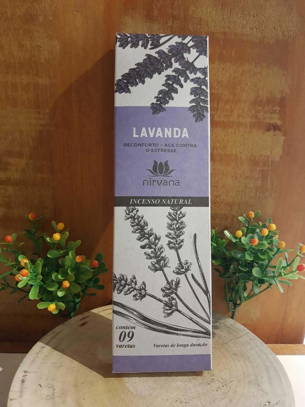 Incenso natural Lavanda - Nirvana
