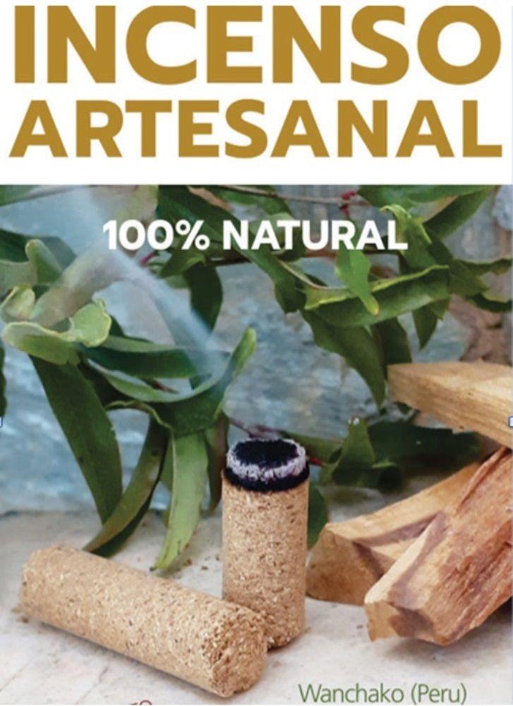 Incenso Palo Santo Ecológico Artesanal Peruano 100% natural