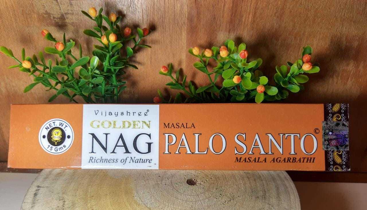 Incenso Palo santo - Golden Indiano,  100% massala
