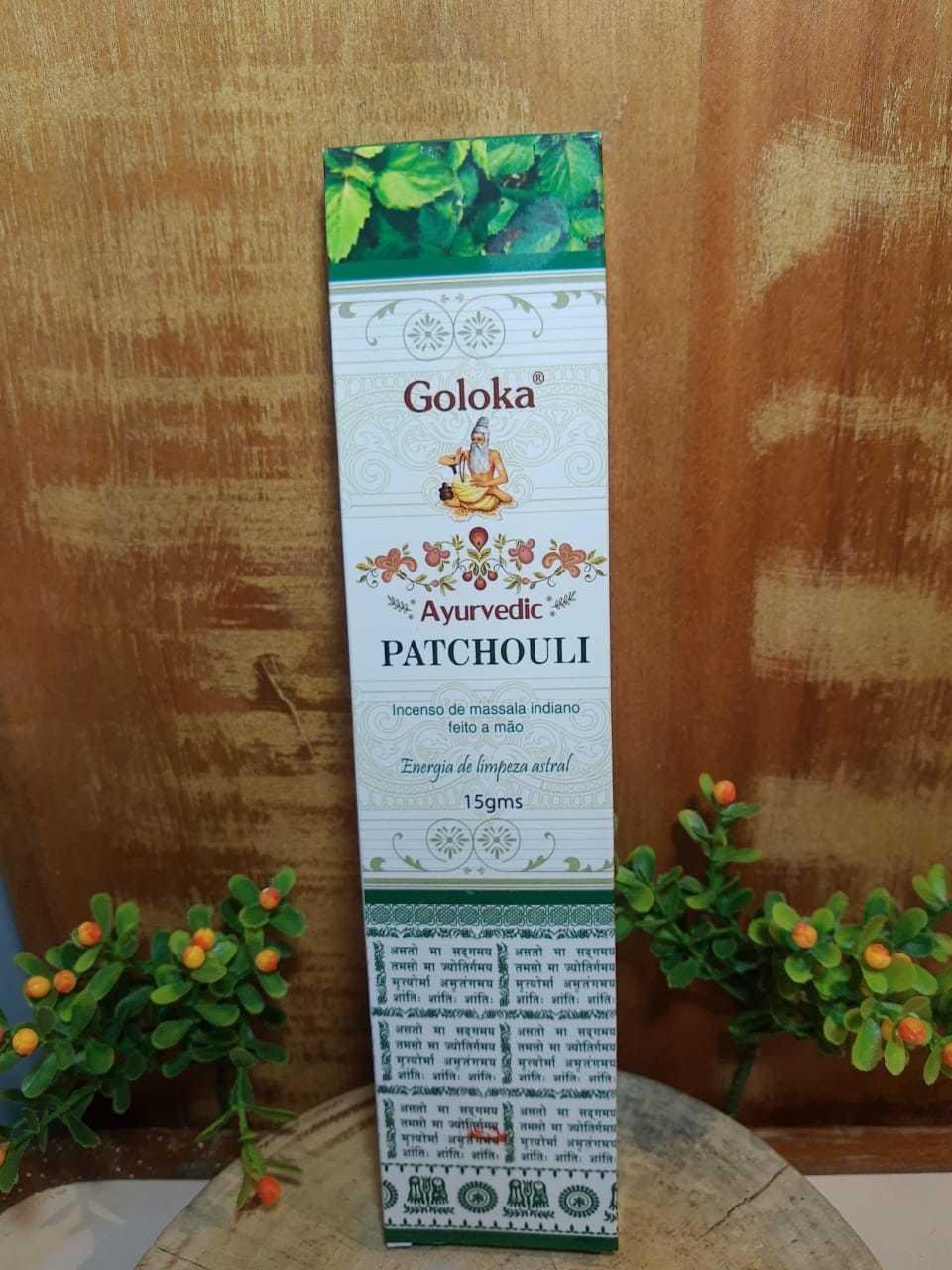 Incenso Patchouli - Indiano, Massala