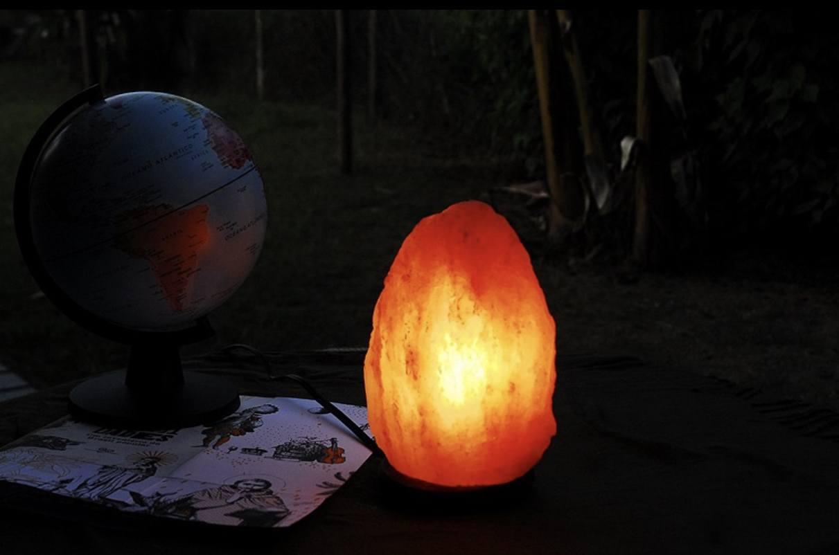 Luminária de Sal SUDEVI