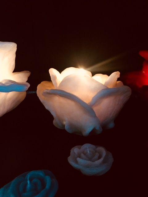 Luminária Rosa Dinamarca Pequena