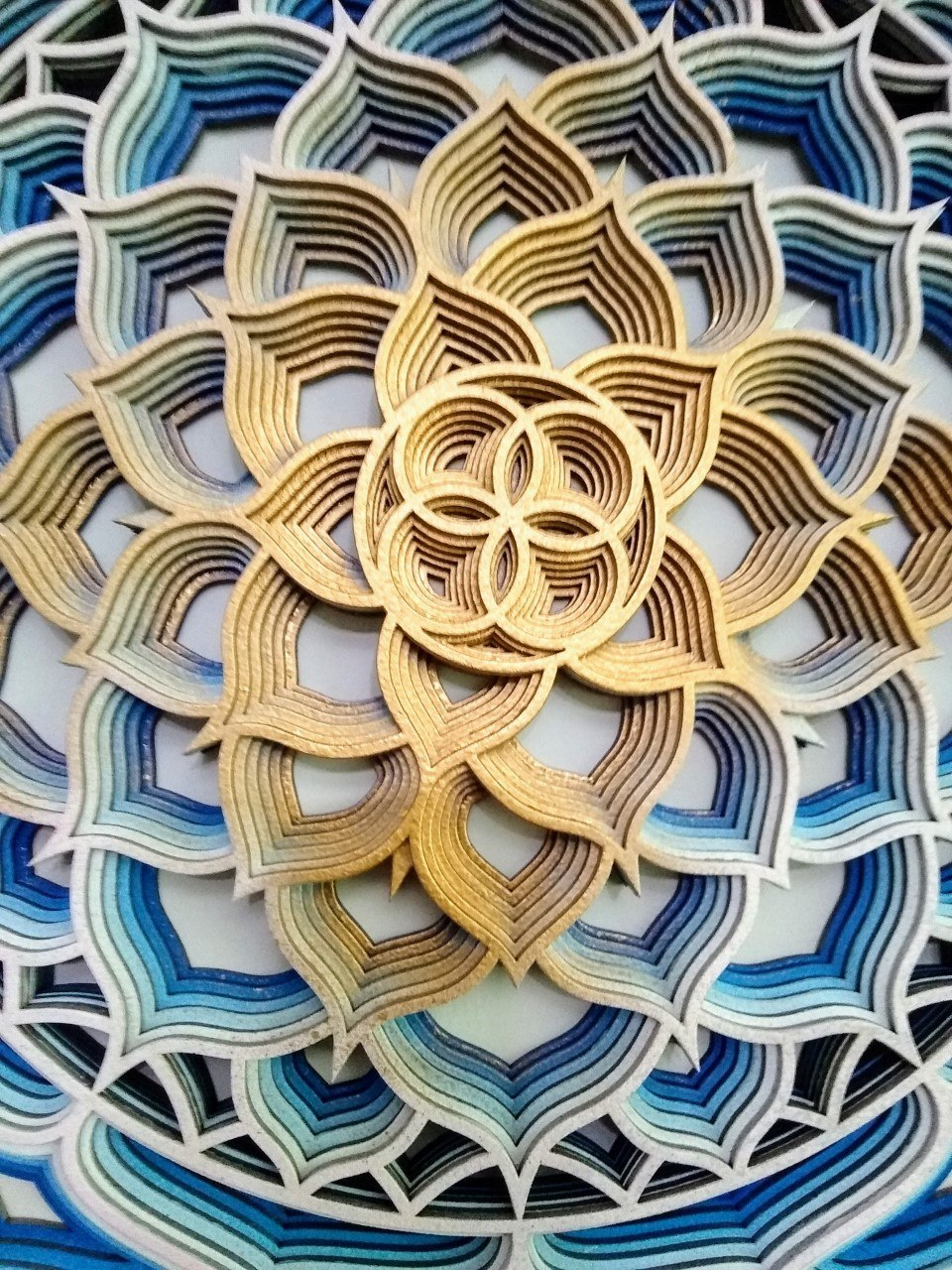 Mandala Flor de Lotus 2