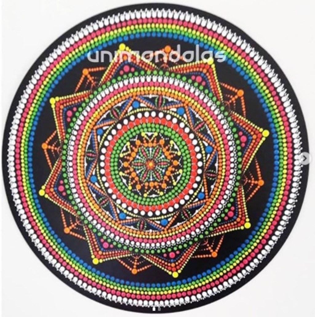 Mandala Neon - 65cm