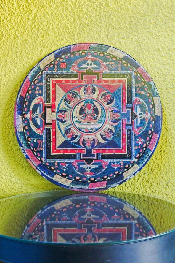 Mandala Tibetana - Placa