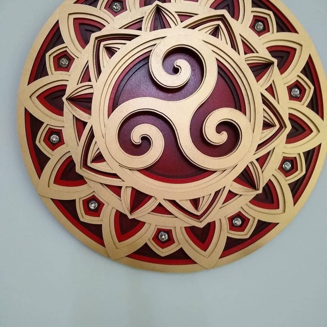Mandala Triskle