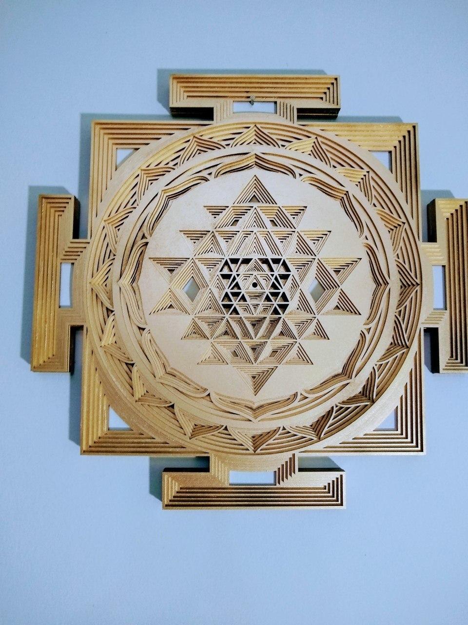 Mandala Yantra de Lakshmi