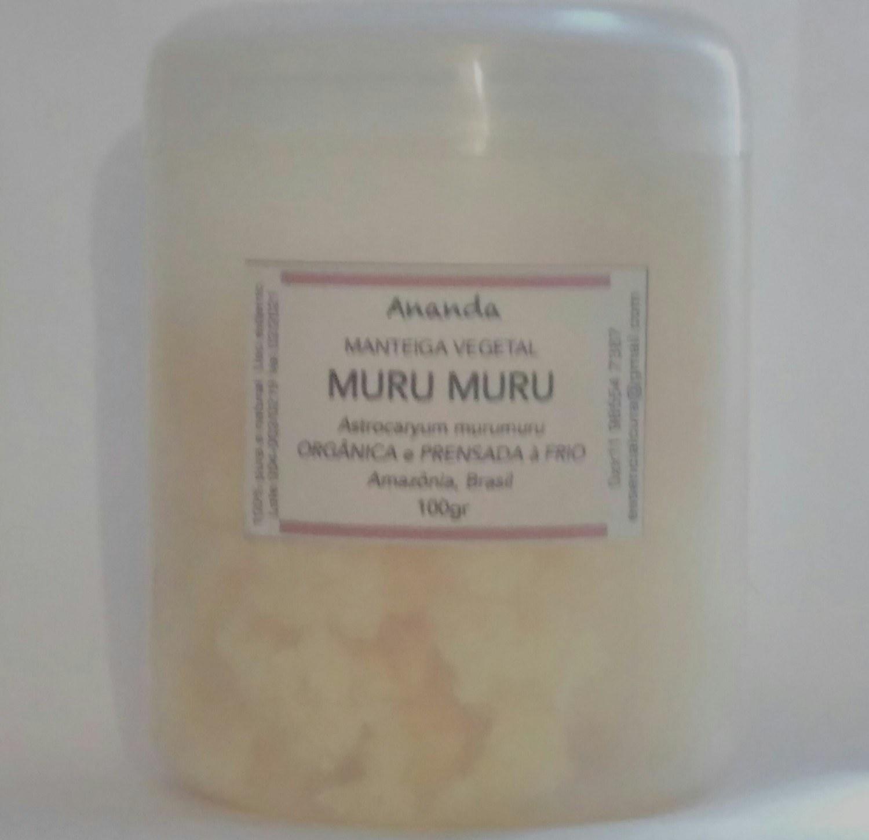 Manteiga de Muru Muru orgânica, prensada a frio e extra virgem