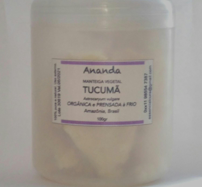 Manteiga de Tucumã orgânica, prensada a frio e extra virgem